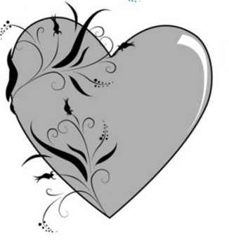 Love Heart Tattoo Design on Hearttat1