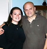 My wife and I at her parents' house Thanksgiving 2009